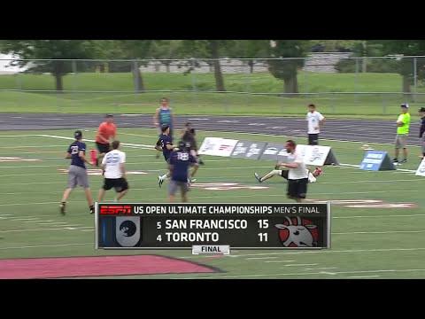 Video Thumbnail: 2015 U.S. Open Club Championships, Men's Final: Toronto GOAT vs. San Francisco Revolver