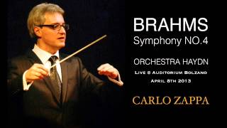 Brahms Symphony no.4 E minor 4th mvt part2 Carlo Zappa Haydn Orchestra