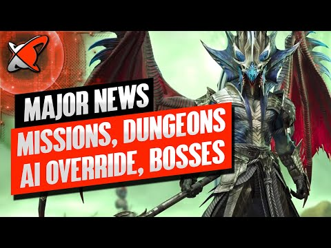 MAJOR NEWS... AI OVERRIDE !? | New Missions & DT Bosses... Harder Dungeons !? | RAID: Shadow Legends