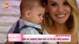 İdris Ali, kardeşi Ömer Erol ile ilk kez canlı yayında - Esra Erol'da 181. Bölüm - atv