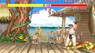 Arcade Longplay [370] Street Fighter II: The World Warrior width=