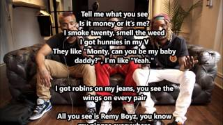 "Fetty Wap ""679"" feat. Remy Boyz (Lyrics Video)"
