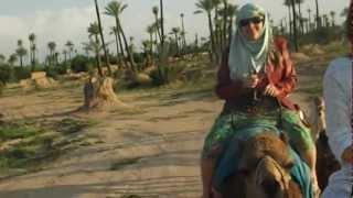 Passeio de Camelo no Marrocos