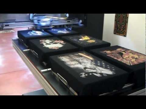3d, 3 boyutlu T-Shirt Baskı Makinesi EAGLE TX 60 / 3 d Digital Textile Garment Printer