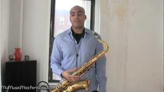 Wayne Escoffery Jazz Saxophone Masterclass