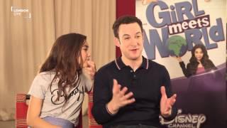Ben Savage and Rowan Blanchard on Disney's Girl Meets World