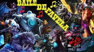 Baile de favela versao League Of Legends (parodia)