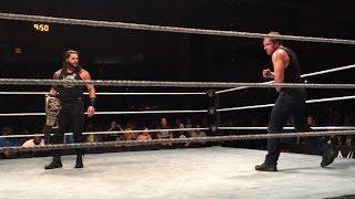 Primera aparición de Roman Reigns tras su suspensión