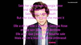 Best Song Ever - One Direction (LYRICS + FRENCH + PICTURES)