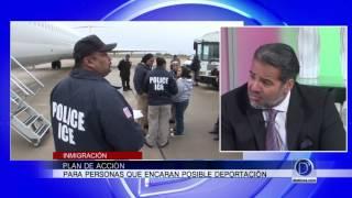 El abogado Robert Pelier explica cómo crear un plan de acción ante posible deportación