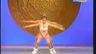National Aerobics Competition USA 1995 Trio