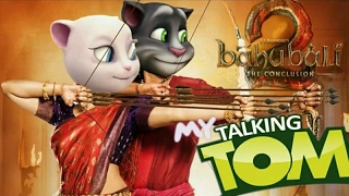 Bahubali 2 ore oru raja song talking tom&angelo version width=