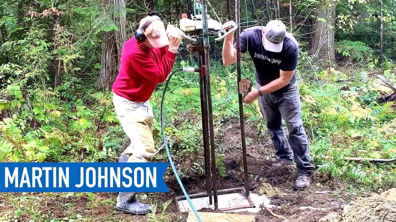 DIY Water Well Drilling | Off Grid Cabin Build