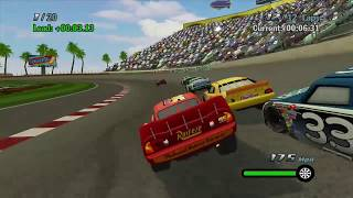 Disney Pixar Cars 1 the Videogame - Episode 5 - Lightning Mcqueen VS Cars Indy 500