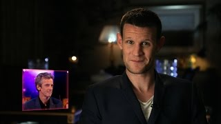 Matt Smith's Message for Peter Capaldi - Doctor Who Live: The Next Doctor - BBC