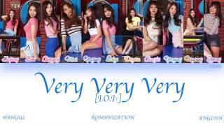 [HAN|ROM|ENG] I.O.I (아이오아이) - Very Very Very (너무너무너무) (Color Coded Lyrics)