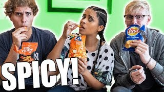 North Americans Try Indian Snacks