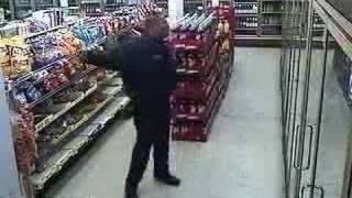 Cop Dancing Billy Jean by Michael Jackson