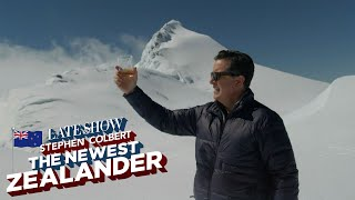 Stephen Colbert Treks To Remote Parts Of New Zealand To Test His Mettle As The Newest Zealander