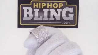 BLING BLING 360 Fully Iced Out Ring