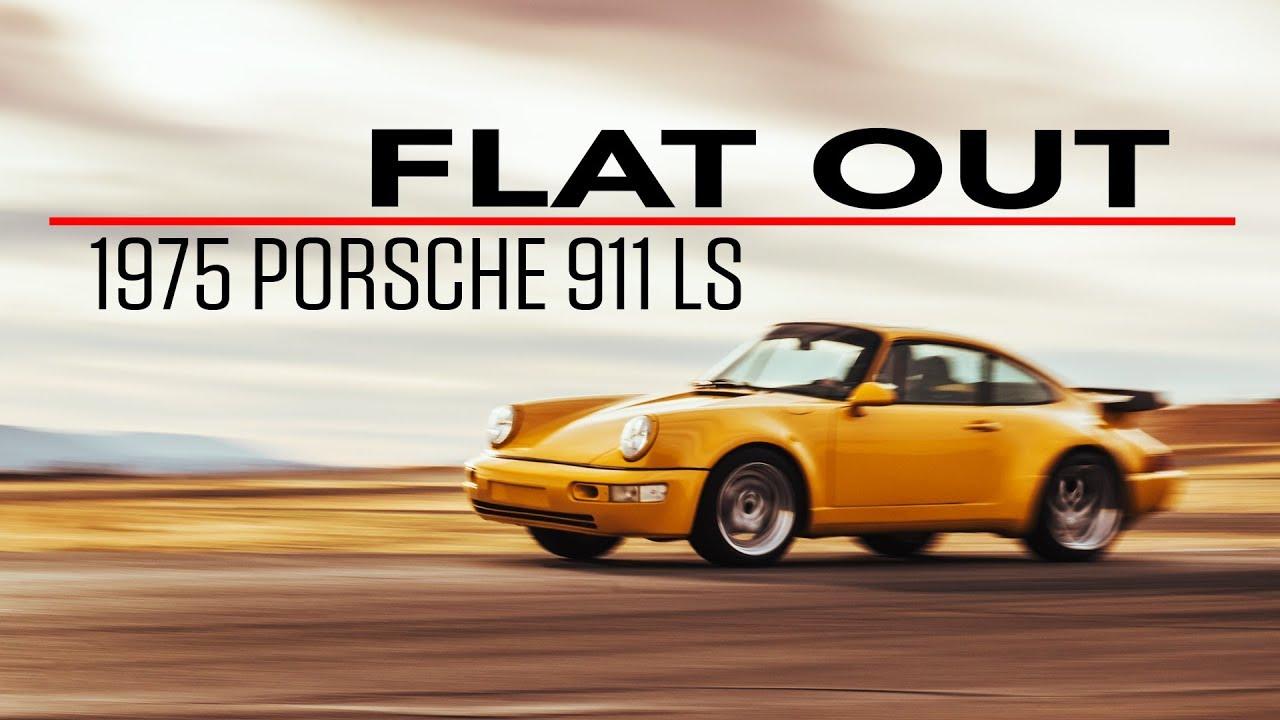 Flat Out in a 603-hp, Corvette V-8-powered Porsche 911