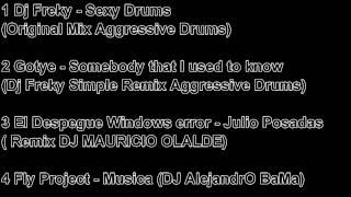 tracklist musica de antro diciembre 2012 (dj gibrand reyes)