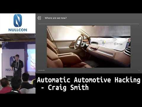 Automatic Automotive Hacking | Craig Smith