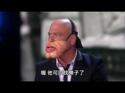 美國達人秀 - 令人捧腹大笑的腹語表演  [Paul Zerdin中文字幕] - YouTube