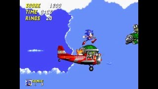 Sonic The Hedgehog 2-Sky Chase Zone(Genesis Remastered)