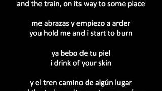 Nek - El Tren (The Train) Con Letra/Lyrics in ENGLISH AND SPANISH