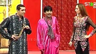 Best Of Zafri Khan, Sajan Abbas and Iftikhar ThakurNew Pakistani Stage Drama Full Comedy Funny Clip width=