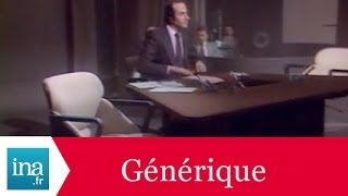 Générique 20h Antenne 2 - Archive INA