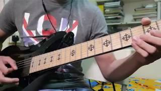 Rebel Love Song Black Veil Brides Guitar Cover FULL w Solo