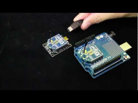 Arduino compatible wireless xBee shield