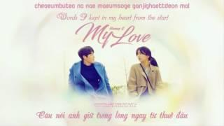 {Dinosaurteam}[Roman+Engsub+Vietsub]160810 My Love - Honey G (Uncontrollably Fond OST Part 11)
