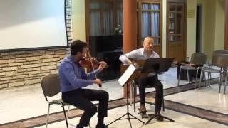 N  Paganini - Centone di Sonate no.1