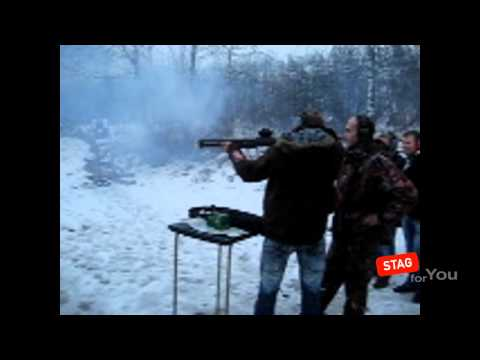 Shooting Event for a stag do in Kiev