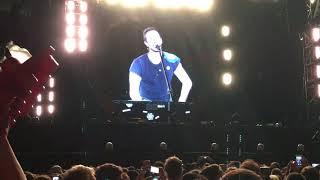 Coldplay – Chris Martin hablando en español + Everglow – Buenos Aires 15/11/2017