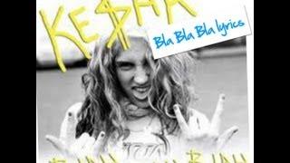 kesha feat. 30H!3 Bla, Bla, Bla ( lyrics )
