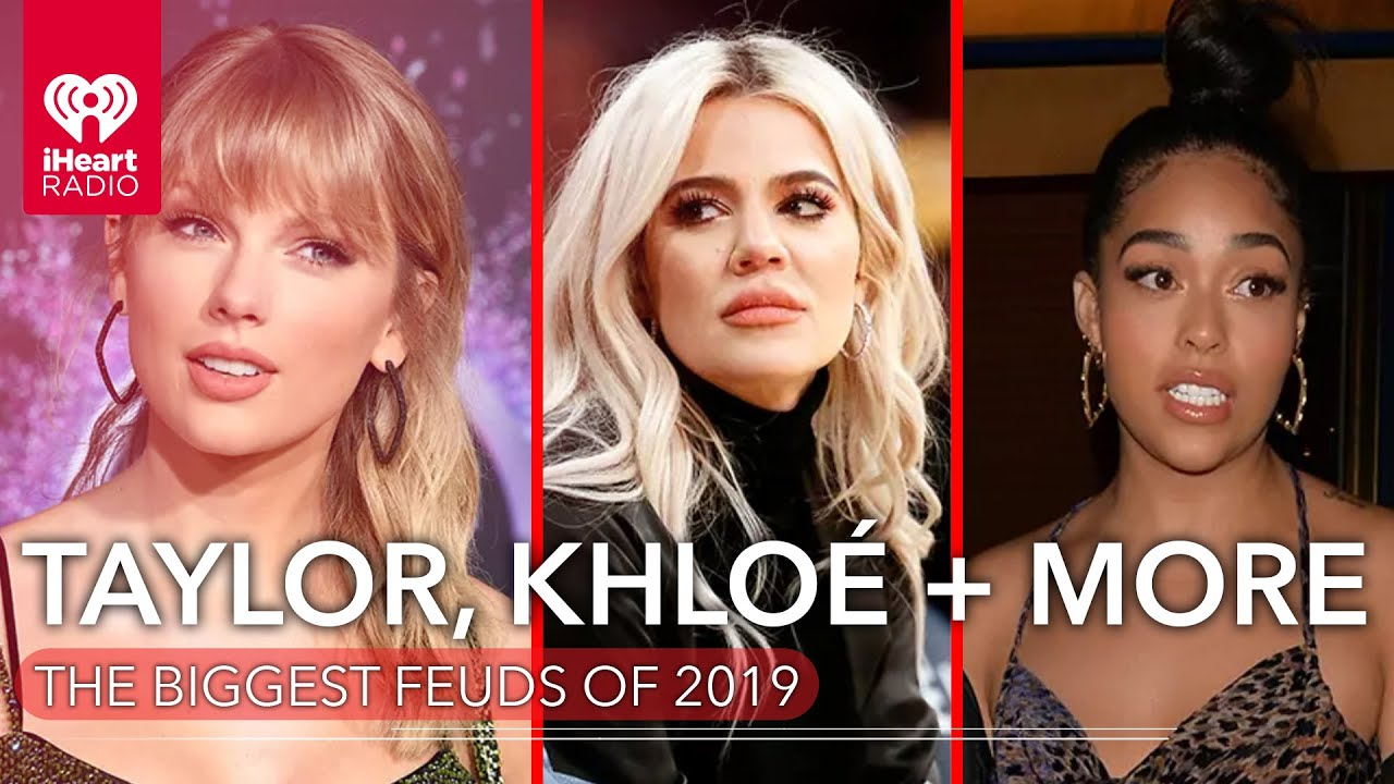 Taylor Swift, Khloe Kardashian & more of the Biggest Feuds of 2019