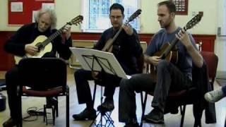 Guitar Trio - Bouree and Gavotte by Handel