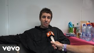 """Liam Gallagher - Liam Gallagher Part 2 Pinkpop 2017 """"Oasis is not getting together"""""""