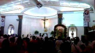 Hymn to St. Rita of Cascia (Sta. Rita de Cascia Parish (Philam) Fiesta 2014)