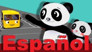 Cruzar la carretera | Canciones infantiles | LittleBabyBum