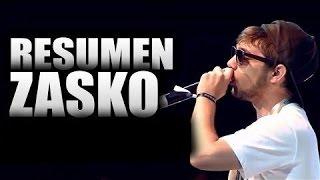 Zasko master/resumen del campeon/The Rhyme/CON LETRA