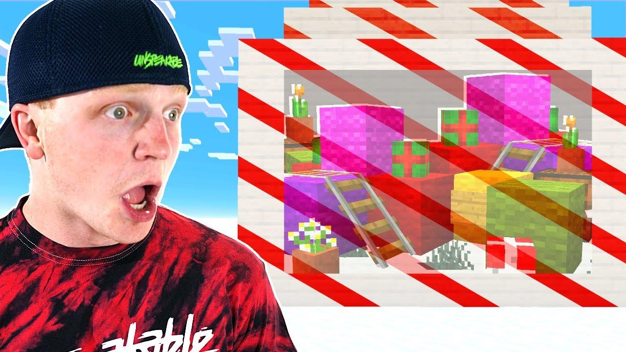 UnspeakableGaming - SNEAKING Into Santas SECRET Base Challenge!