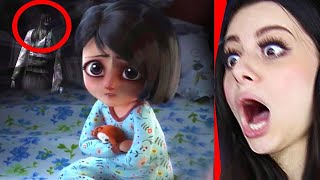 REACTING TO THE MOST CREEPY ANIMATIONS (DO NOT WATCH AT NIGHT)