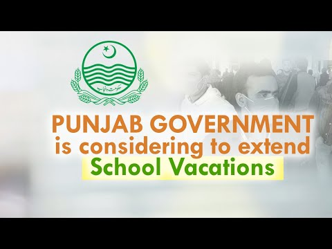 Punjab Government is considering to extend school vacations