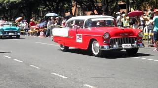 Desfile Autos Clasicos y Antiguos, parte 1 (feria de las flores 2017)