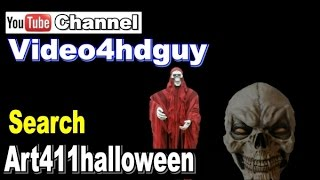 Halloween video Scary sounds Screensaver scary soundtrack | art411halloween™ msv all compt